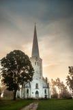 Una chiesa fotografia stock