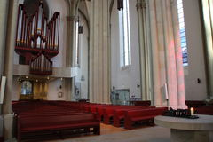 Una chiesa Fotografia Stock Libera da Diritti