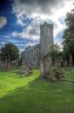Una chiesa britannica Fotografia Stock