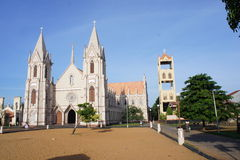Una chiesa cattolica in Negombo Immagine Stock Libera da Diritti