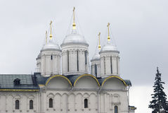 Una chiesa di dodici apostoli sul quadrato di Sobornaya Immagine Stock Libera da Diritti