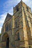 Una chiesa inglese fine Fotografia Stock Libera da Diritti