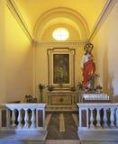 Una chiesa italiana Fotografia Stock Libera da Diritti