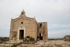 Una chiesa a Malta fotografia stock