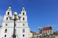Una chiesa a Minsk Fotografie Stock