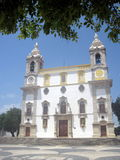 Una chiesa Nossa Senhora fa Carmo faro Algarve portugal fotografie stock libere da diritti