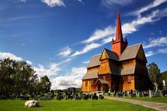 Chiesa in Norvegia Fotografie Stock