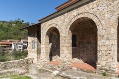 Una chiesa santa medievale di quaranta martiri in città di Veliko Tarnovo, Bulgaria immagine stock