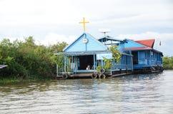 Una chiesa sull'acqua 2 Fotografia Stock Libera da Diritti
