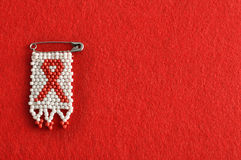 Una cinta del SIDA Fotos de archivo libres de regalías