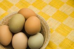 Una ciotola di uova Immagine Stock Libera da Diritti