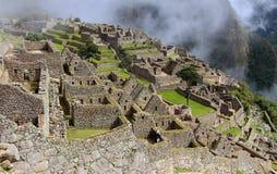 Una ciudad antigua de Machu Picchu Imagen de archivo libre de regalías