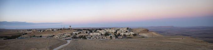 Una ciudad en el desierto foto de archivo libre de regalías