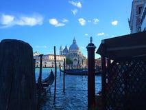 Una ciudad hermosa y romántica en el agua Venecia Italia imagen de archivo