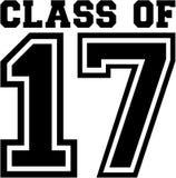 Una classe di 17 illustrazione vettoriale