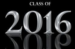 Una classe di laurea di 2016 Immagini Stock Libere da Diritti