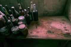 Una cocina del ` s de la bruja Un montón de espacio para el texto fotos de archivo