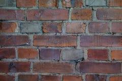 Una colata della parete del ghetto di Varsavia fotografie stock libere da diritti