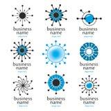 Logotipo de la tecnología de Digitaces Foto de archivo libre de regalías