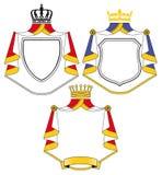 Escudos de armas stock de ilustración