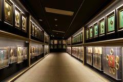 Una colección de expedientes del oro Foto de archivo libre de regalías