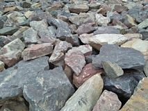 Una colección de rocas Imagen de archivo