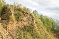 Una colina arenosa Imagen de archivo libre de regalías