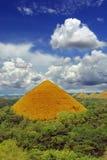 Una colina del chocolate de Bohol fotos de archivo libres de regalías