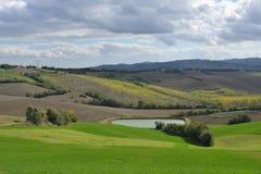Una colina verde Foto de archivo