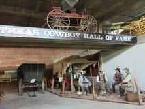 Una collezione del vagone di Sterquell a Texas Cowboy Hall di fama Fotografia Stock