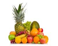 Una collezione di frutti differenti Fotografie Stock