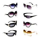 Una collezione di occhiali da sole Fotografia Stock