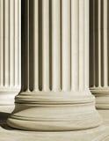 Una columna clásica Imagen de archivo