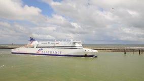 Una compañía de Seafrance de la nave Foto de archivo