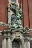 Una composición escultural religiosa Imagen de archivo libre de regalías