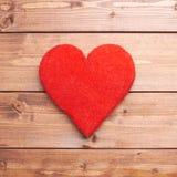 Una composizione rossa nel cuore Immagini Stock