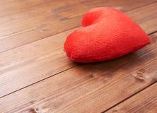 Una composizione rossa nel cuore Immagine Stock Libera da Diritti