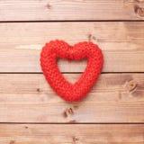 Una composizione rossa nel cuore Immagini Stock Libere da Diritti