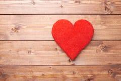 Una composizione rossa nel cuore Fotografie Stock