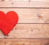 Una composizione rossa nel cuore Fotografia Stock Libera da Diritti