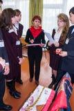 Una concorrenza per i migliori gruppi nella città di Obninsk, regione di Kaluga, Russia Immagini Stock