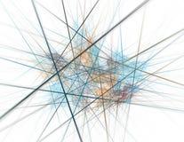 Una congestión de líneas Fotografía de archivo libre de regalías