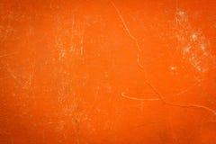 Una copertina di libro d'annata del panno con il modello arancio dello schermo Fotografia Stock Libera da Diritti