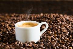 Una coppia di tazze di caffè Immagini Stock Libere da Diritti