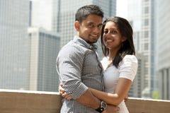Una coppia felice fotografie stock libere da diritti