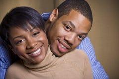 Una coppia felice Fotografie Stock