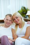 Marito e moglie Fotografie Stock