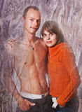 Una coppia gli amanti Fotografia Stock