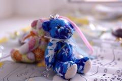 Una coppia l'orso del giocattolo Immagine Stock Libera da Diritti