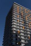 Una costruzione di appartamento Fotografia Stock